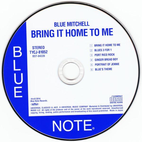 IlGiradischi.com - Blue Mitchell Bring it Home to Me