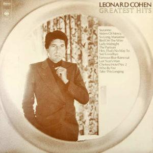 IlGiradischi.com - Leonard Cohen Greatest Hits
