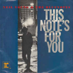 Vinili Neil Young This note's for you 4