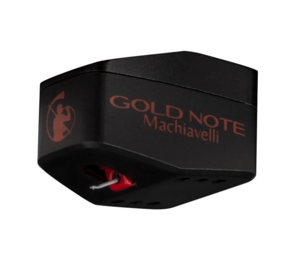 IlGiradischi.com - Testina Gold Note Machiavelli Red