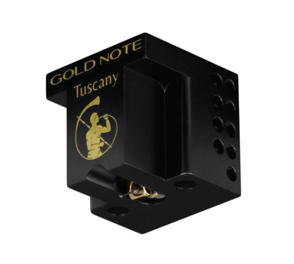 IlGiradischi.com - Testina Gold Note Tuscany Gold