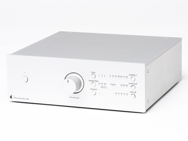 IlGiradischi.com - Preamplificatore Pro-Ject Phono Box DS2 USB
