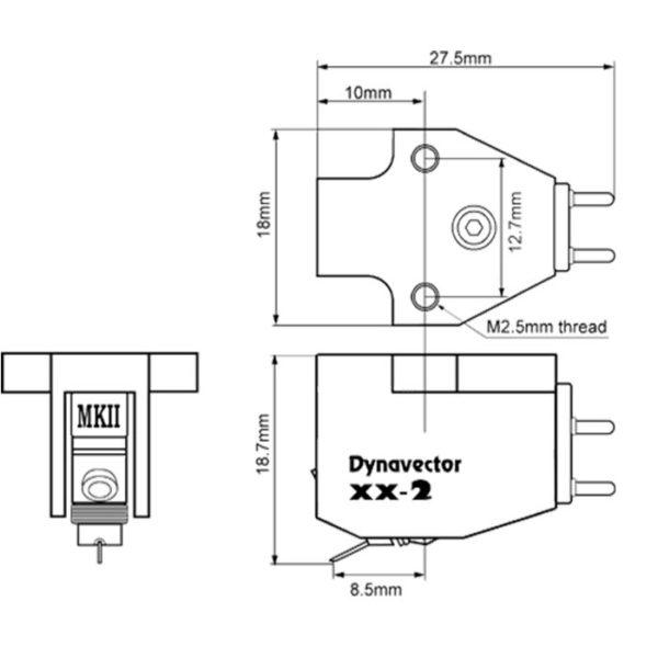 Testine Dynavector DV XX2 MKII
