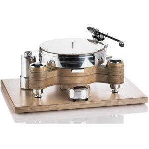 Giradischi Linea Klassik Acoustic Solid Wood Round