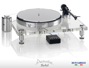 Giradischi Acoustic  Solid  Klassic  111 poliert (lucidato) 1
