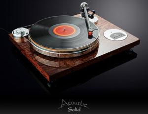 Giradischi Acoustic Solid  Klassic 113 Bubinga superlucido 9